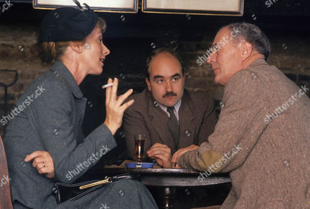 Series 3 Picture shows - David Haig as Captain Battersby and Mel Martin as Freda Battersby with Moray Watson as Brigadier