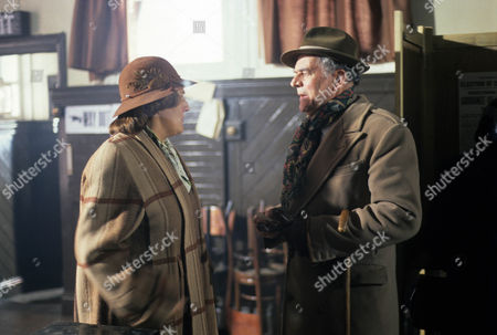 Series 3 Picture shows - Rachel Bell as Edith Pilchester and Moray Watson as Brigadier