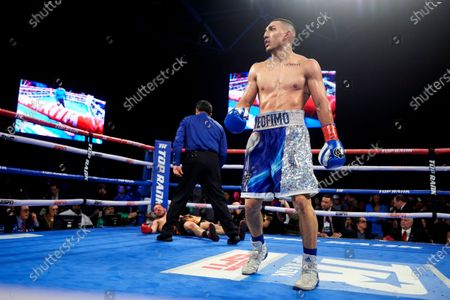 Editorial photo of Lopez Magdaleno Boxing, Frisco, United States - 03 Feb 2019