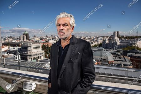 Pedro Costa poses for photographers during an interview with Spanish International News Agency EFE, in Madrid, Spain, 15 October 2020. Costa is visting Madrid and Barcelona to present his latest movie, 'Vitalina Varela,' a story about loss and last chances.