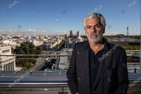 Stock Picture of Pedro Costa poses for photographers during an interview with Spanish International News Agency EFE, in Madrid, Spain, 15 October 2020. Costa is visting Madrid and Barcelona to present his latest movie, 'Vitalina Varela,' a story about loss and last chances.