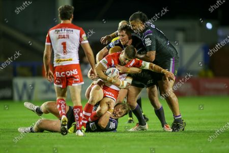 Editorial photo of St Helens RFC v Wakefield Trinity Wildcats, Betfred Super League - 15 Oct 2020