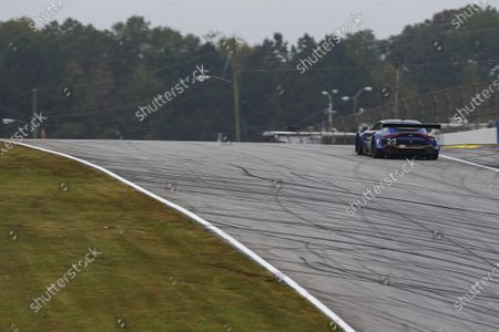 ROAD ATLANTA, UNITED STATES OF AMERICA - OCTOBER 15: #23 Heart Of Racing Team Aston Martin Vantage GT3, GTD: Roman De Angelis, Ian James, Darren Turner during the Road Atlanta II at Road Atlanta on October 15, 2020 in Road Atlanta, United States of America. (Photo by Jake Galstad / LAT Images)