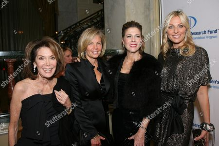 Marion Laurie, Kelly Meyer, Rita Wilson and Jamie Tisch