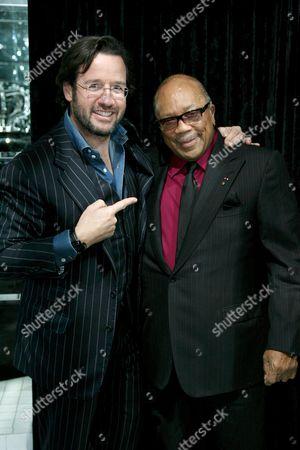 Francois-Henry Bennahmias and Quincy Jones