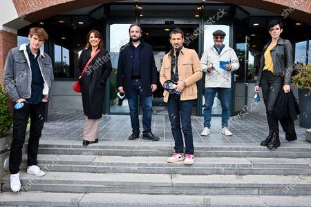 President Patrick Ridremont, Victor Meutelet, Tania Garbarski, Kamel Belghazi and Carole Weyers