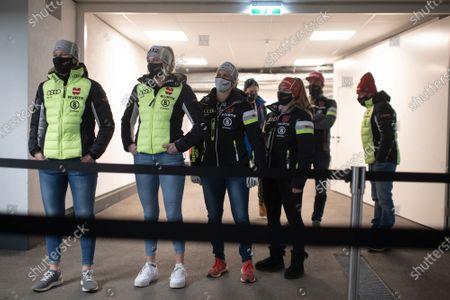 Editorial picture of FIS Alpine Skiing World Cup in Soelden, Austria - 15 Oct 2020