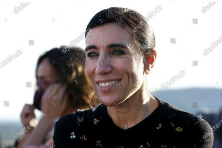 Stock Photo of Jury member, Spanish dancer and actress Blanca Li attends the 35th International Festival of Fashion and Photography in Hyeres, southern France. The festival runs from 25 to 29 April.