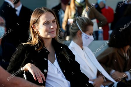 Stock Photo of Jury member, French actress Ana Girardot attends the 35th International Festival of Fashion and Photography in Hyeres, southern France, 15 October 2020. The festival runs from 15 to 19 October 2020.