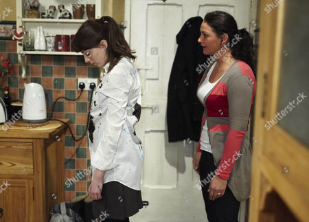 Hannah Barton [Grace Cassidy] Comes Home From School Morose and Covered in Ink John Barton [James Baxter] and Moira Barton [Natalie J Robb] Still Don't Realise That She's Being Bullied.