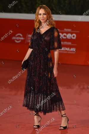 Editorial image of 'Soul' film premiere, Arrivals, Rome Film Fest, Italy - 15 Oct 2020