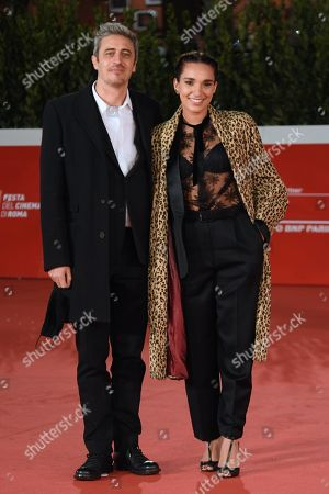 Pierfrancesco Diliberto and Girlfriend