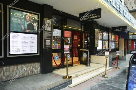 The much loved Prince Charles Cinema reopens in Leicester Square