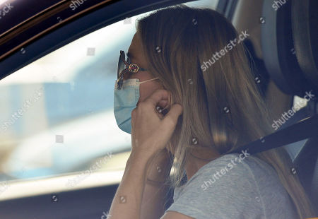 Editorial image of Exclusive - Joanna Krupa out and about, Woodland Hills, Los Angeles, California, USA - 15 Oct 2020