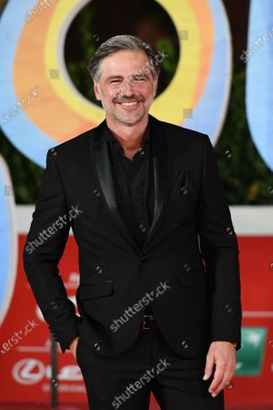 Beppe Convertini on the Red carpet of cartoon 'Soul' at the 15h Rome Film Festival, Rome, ITALY-15-10-2020