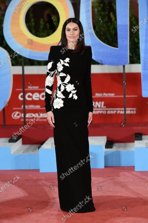 Paola Turani on the Red carpet of cartoon 'Soul' at the 15h Rome Film Festival, Rome, ITALY-15-10-2020