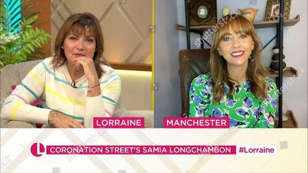 Lorraine Kelly, Samia Longchambon
