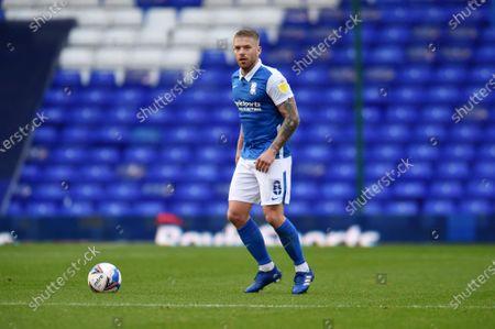 Adam Clayton of Birmingham City.