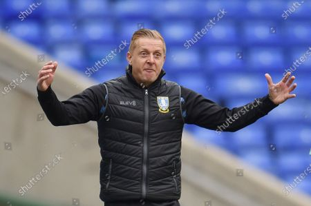 Garry Monk manager of Sheffield Wednesday reacts.