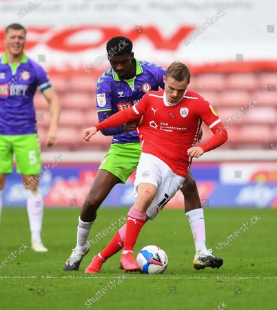Editorial image of Barnsley v Bristol City, EFL Sky Bet Championship, Football, Oakwell Stadium, Barnsley, UK - 17 Oct 2020