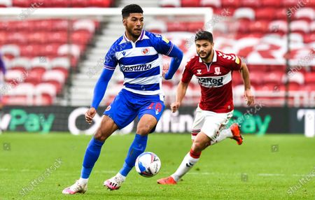 Stock Photo of Josh Laurent of Reading and Sam Morsy of Middlesbrough