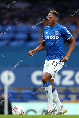 Yerry Mina of Everton