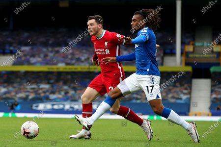 Editorial photo of Everton v Liverpool, Premier League, Football, Goodison Park, Liverpool, UK - 17 Oct 2020