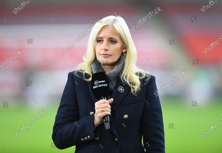 Stock Photo of BT Box Office presenter Lynsey Hipgrave