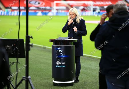 BT Sport Box Office presenter Lynsey Hipgrave