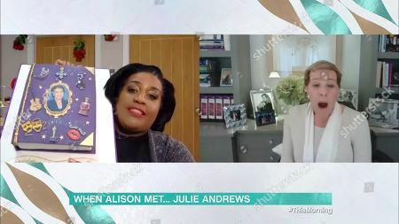 Alison Hammond, Julie Andrews