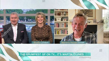 Stock Picture of Eamonn Holmes, Ruth Langsford, Martin Clunes