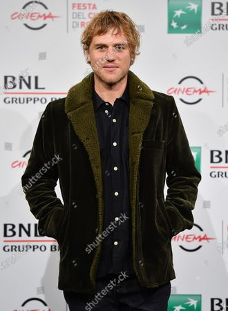 Johnny Flynn poses during the photocall for the movie 'Stardust' at the 15th annual Rome International Film Festival, in Rome, Italy, 16 October 2020. The film festival runs from 15 to 25 October.