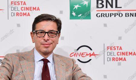 Rome Film Festival Artistic Director Antonio Monda poses at the 15th annual Rome International Film Festival, in Rome, Italy, 16 October 2020. The film festival runs from 15 to 25 October.