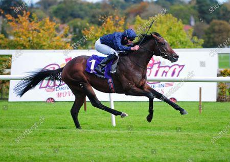 LEOPARDSTOWN. BOLSHOI BALLEt and Seamie Heffernan win The Irish Stallion Farms EBF (C & G) Maiden for Trainer Aidan O'Brien. Healy Racing