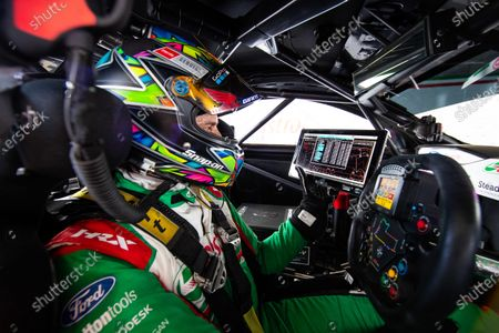 Stock Image of MOUNT PANORAMA CIRCUIT, AUSTRALIA - OCTOBER 16: Rick Kelly, Kelly Racing Ford at Mount Panorama Circuit on Friday October 16, 2020 in Bathurst, Australia. (Photo by Dirk Klynsmith / LAT Images)