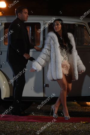 Stock Image of Exclusive - James Locke & Yazmin Oukhellou in Chelmsford
