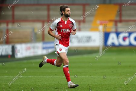Charlie Mulgrew of Fleetwood Town makes his debut