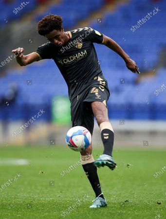 Sido Jombat of Oldham Athletic