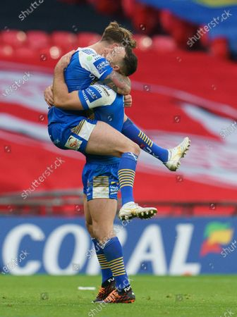 Editorial picture of Leeds Rhinos v Salford Red Devils, Coral Challenge Cup Final, Rugby League, Wembley Stadium, London, UK - 17 Oct 2020