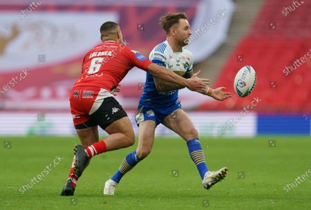 Editorial image of Leeds Rhinos v Salford Red Devils, Coral Challenge Cup Final, Rugby League, Wembley Stadium, London, UK - 17 Oct 2020