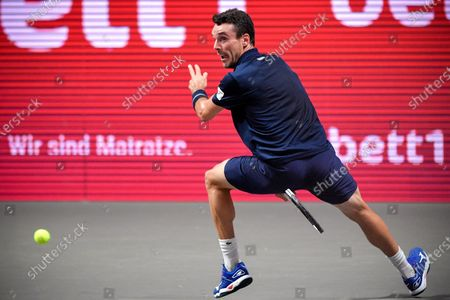 Editorial image of ATP bett1HULKS Indoors tennis tournament in Cologne, Germany - 16 Oct 2020
