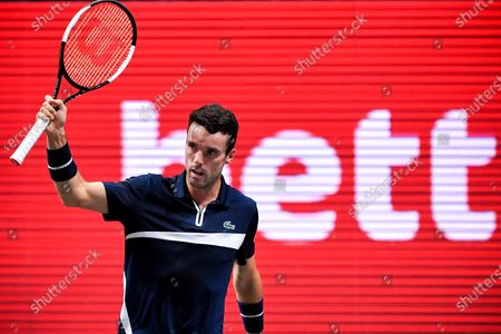 Editorial photo of ATP bett1HULKS Indoors tennis tournament in Cologne, Germany - 16 Oct 2020