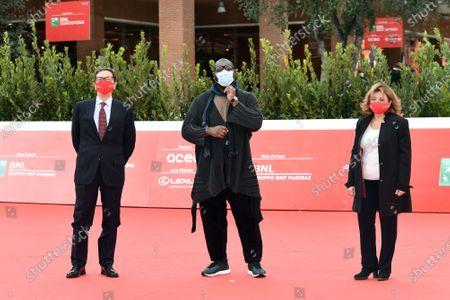Steve McQueen, Antonio Monda and Laura Della Colli