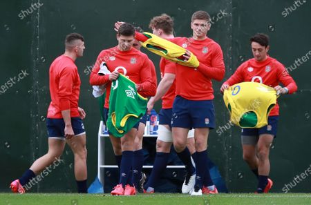 Editorial image of Rugby England training, Teddington, United Kingdom - 16 Oct 2020