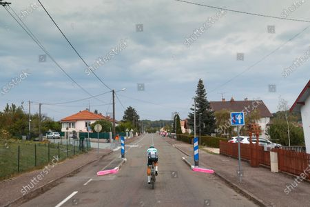 Slovakia's Peter Sagan rides during stage 20 of the Tour de France cycling race, an individual time trial over 36.2 kilometers (22.5 miles), from Lure to La Planche des Belles Filles, France