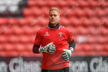 Editorial picture of Charlton Athletic v Wigan Athletic, EFL Sky Bet League One, Football, The Valley, London, UK - 17 Oct 2020