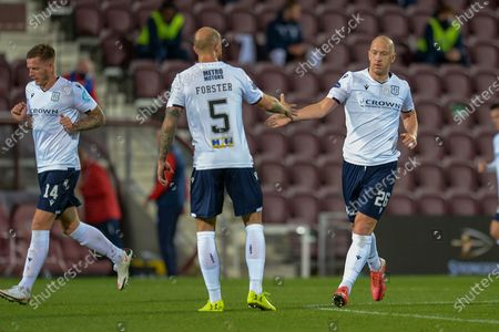 Editorial image of Heart of Midlothian v Dundee, SPFL Championship - 16 Oct 2020