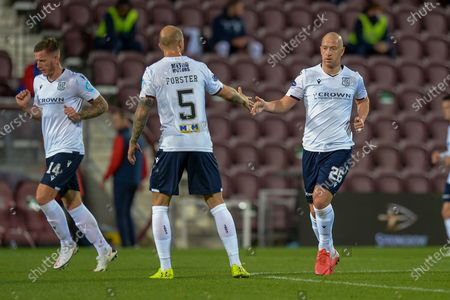 Editorial photo of Heart of Midlothian v Dundee, SPFL Championship - 16 Oct 2020