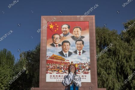 Editorial image of Poverty alleviation in Tibet, Lhasa, China - 15 Oct 2020