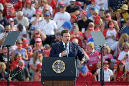 Editorial photo of Election 2020 Trump, Ocala, United States - 16 Oct 2020